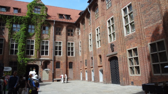 The courtyard of the old town hall