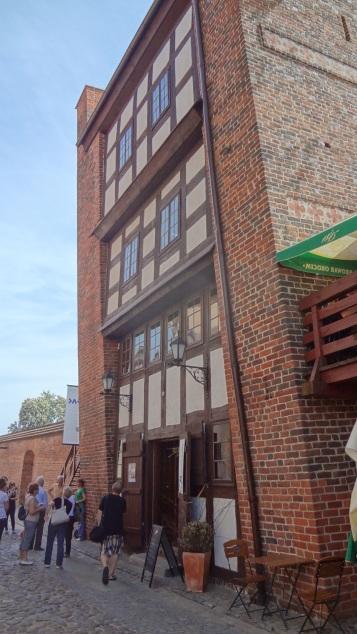 Leaning Tower in Torun