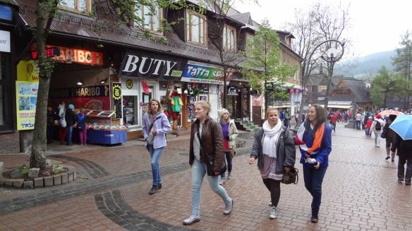 Krupowki street