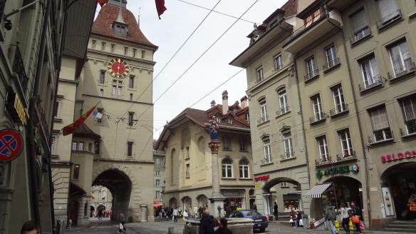 Prison Tower and Anna-Seiler-Brunnen