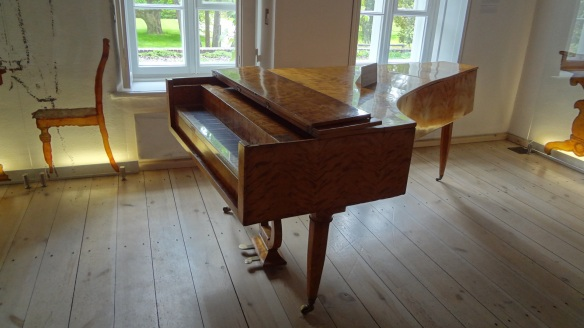 Old piano, the birthplace of Chopin