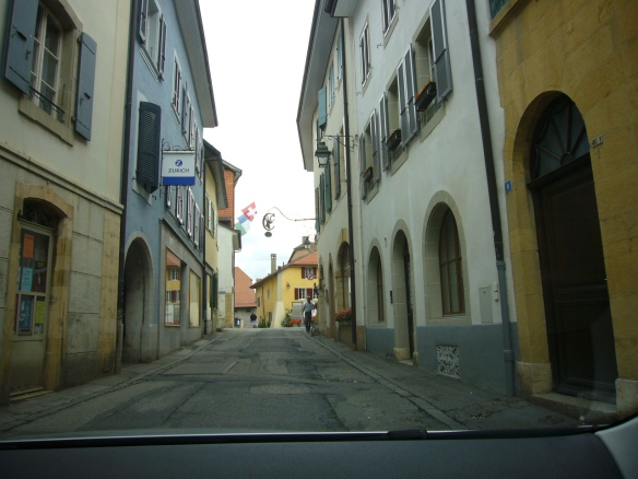 Cossonay Old Town