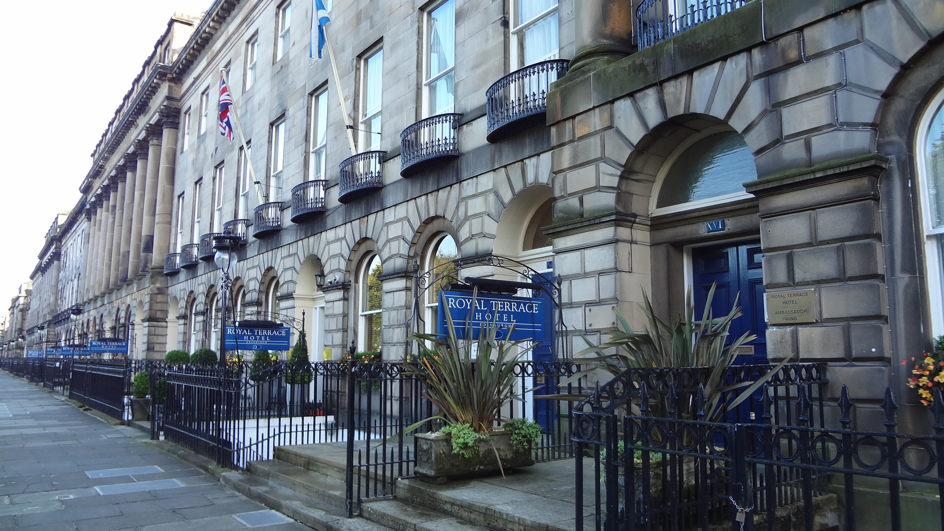 edinburgh royal terrace hotel weepingredorger