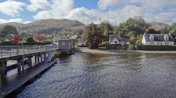 Balloch Village on Loch Lomond