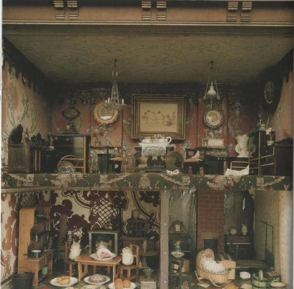 The doll's house in the Treasure Room