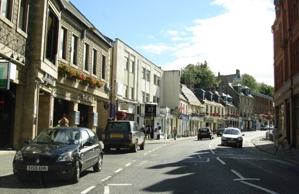 Castle Street in Inverness