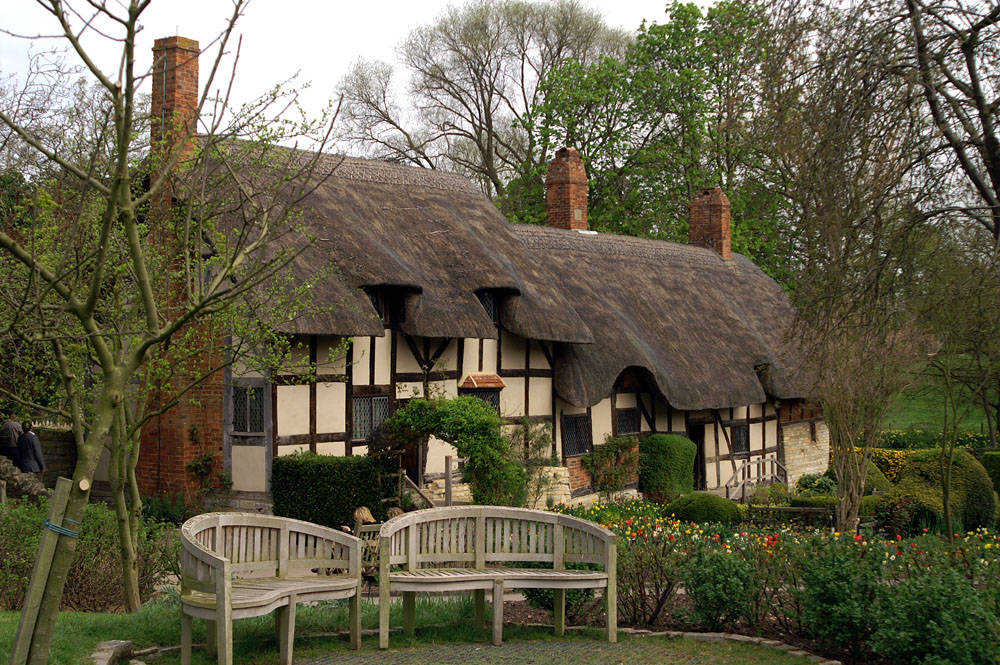 Stratford-upon-Avon, E... Anne Hathaway's Cottage