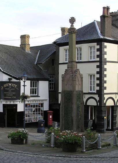 Market Cross, Ulverston in Ambleside