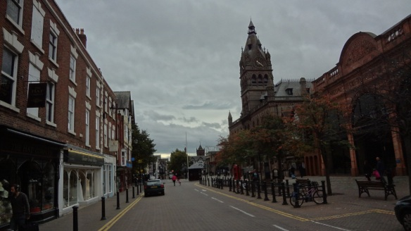 Town Hall, Central Library and Northgate Street