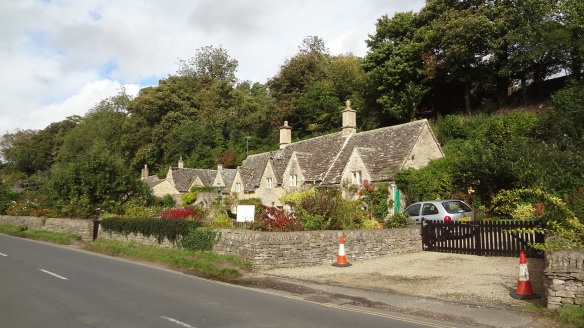 Bibury was the most beautiful village which I looked at so far.