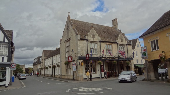 The centre of Tetbury
