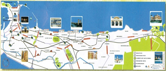 Alexandria's town map