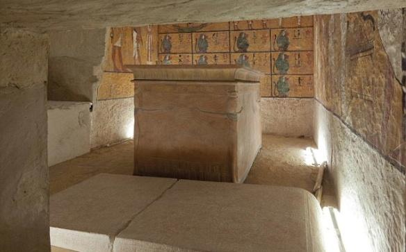 Burial chamber of Tutankhamun