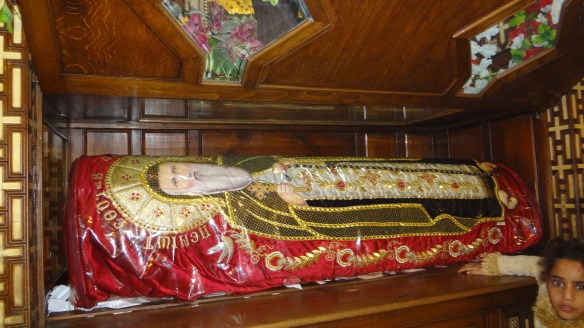 The Coffin of Saint Pishoy