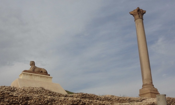 Pompey's Pillar (Column)  Alexandria