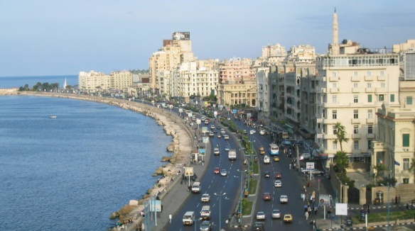 The city of Alexandria