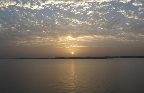 Sunrise at Nile