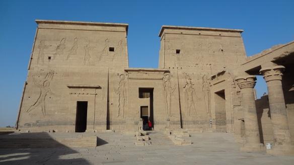 Pylon of Isis Temple
