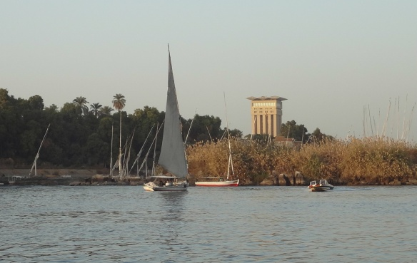 Quiet Waves of Lake Nasser