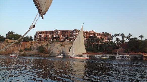 Hotel Old Cataract on Lake Nasser