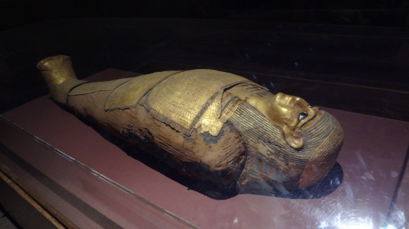 Nubian mummy from the Ptolemaic period