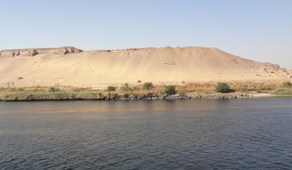The Nile that brought up ancient civilization.