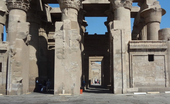 Ruins of Kom Ombo Temple.