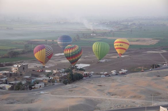 Balloon trip in Luxor