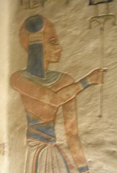 Portrait of Amun-her-khepeshef, Wall painting of the tomb