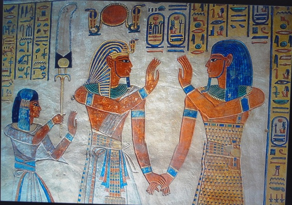 Wall painting of the Tomb of Amun-her-khepeshef