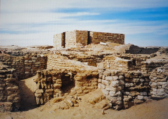 The ruins of the temple of Alexander the Great.