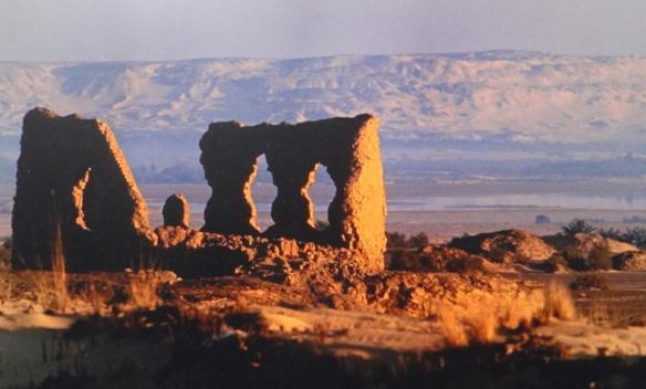 Roman Fortress in El-Haiz.