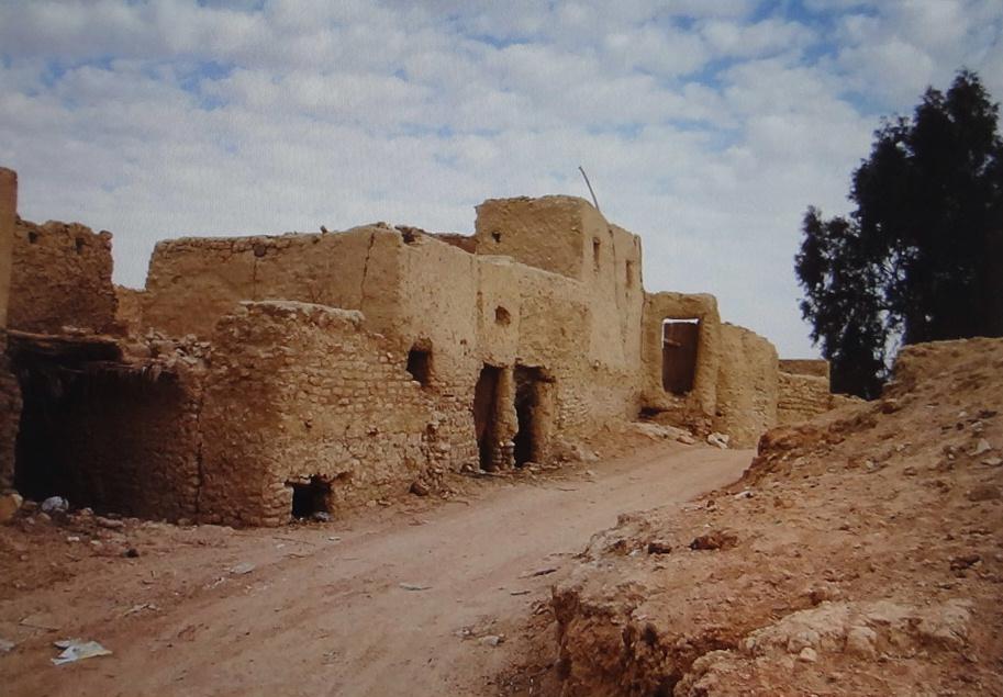 Oasis Town Qasr El Farafra Westren Desert Weepingredorger