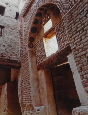 Walls of a traditional house.