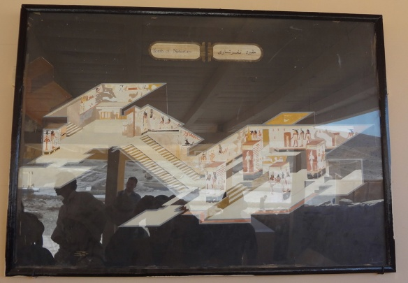 Construction of tne Tomb, Nefertari