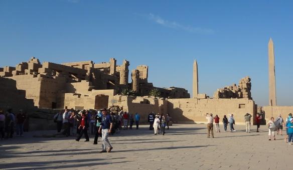 The precincts of Karnak Temple