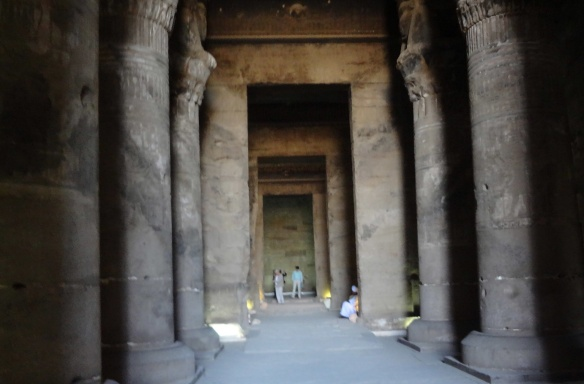 From Second, Small Hypostyle Hall to Main Sanctuary
