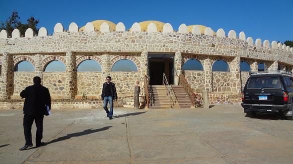 The Oasis Panorama Hotel at Bawiti.