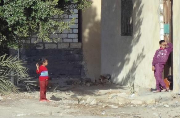 The kids of el-Bahariya