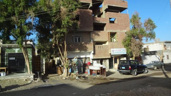 The town of el-Bahariya