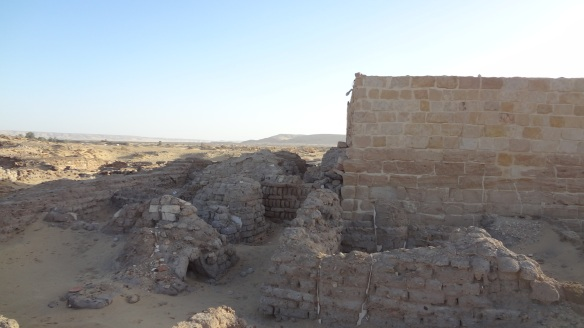 The remains of the temple of Alexander the Great.