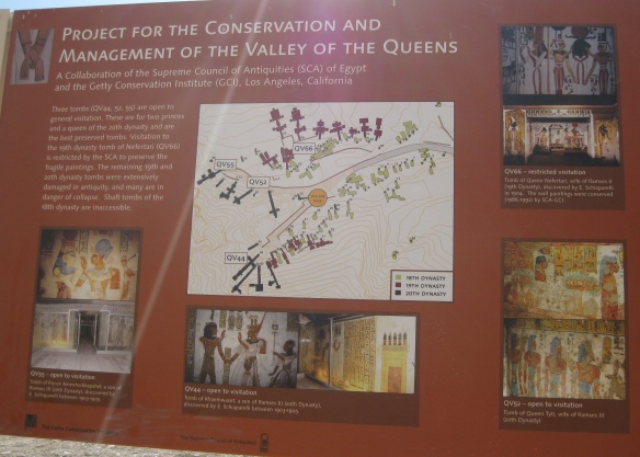 The information about the Valley of Queen
