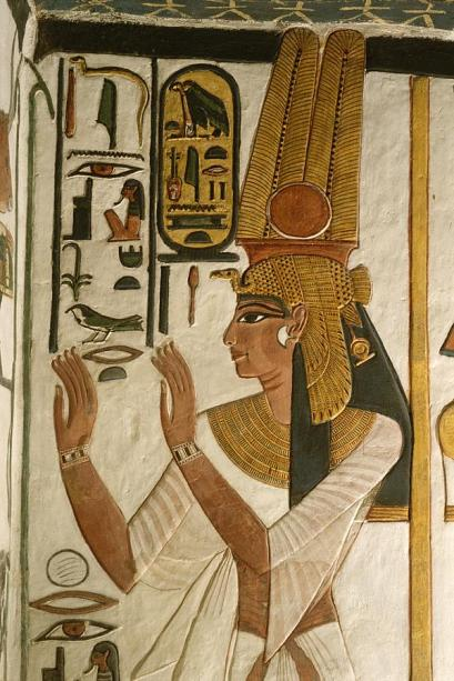 Grace and regal Nefertari