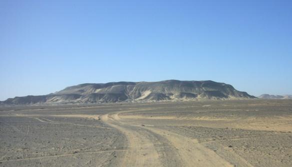 Black Desert, windblown and volcanic