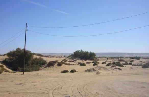 Scenery of the Al-Haiz valley.