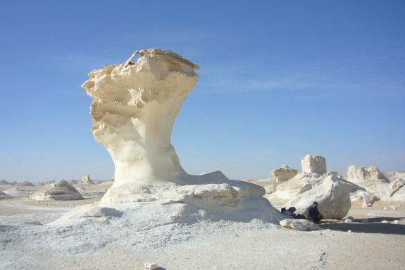 "They call it ""a mushroom rock""."