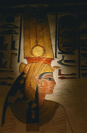 Portrait, Nefertari of the Beauty