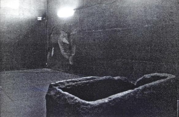 Stone coffin of Pharaoh Khufu