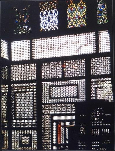 The mashrabiya in the Coptic Museum