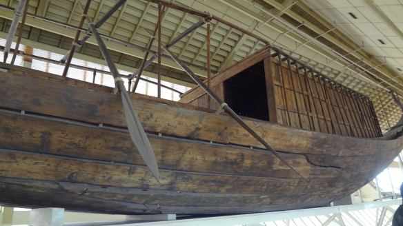 The solar boat of pharaoh Khufu was made with the cedar of Lebanese.